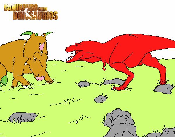 Dibujo De Gorgosaurio Pintado Por En Dibujos.net El Día 13
