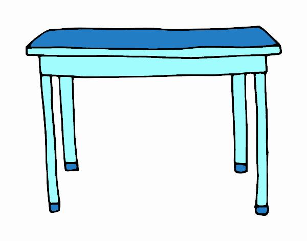 Dibujo de mesa rectangular pintado por en el d a 15 06 15 a las 23 10 34 imprime - Mesas de dibujo ...
