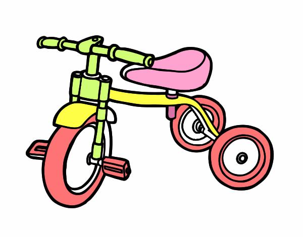 Dibujo de triciclo para ni os pintado por en - Dibujos infantiles para imprimir pintados ...