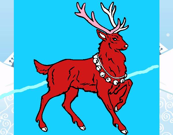 dibujo de ciervo pintado por en el d a 26 06