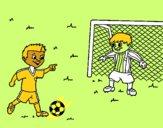 Portero de fútbol