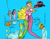 Barbie sirena y la reina sirena