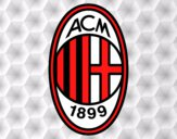 Dibujo Escudo del AC Milan pintado por TobiKiller