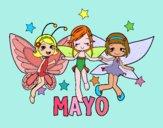 Dibujo Mayo pintado por queyla