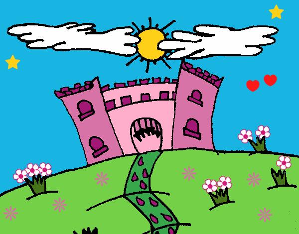 Dibujo De Castillo Maléfico Pintado Por Lunalunita En