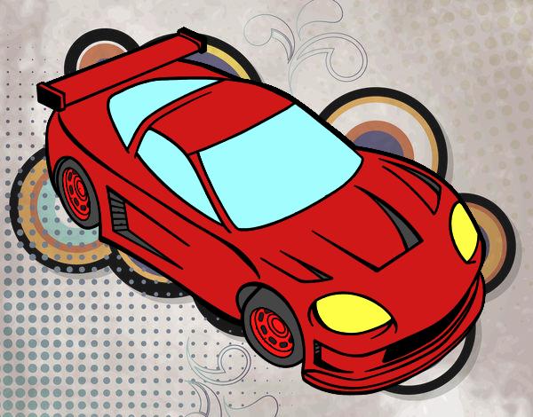 Dibujo De Carro Super Lujoso Pintado Por En Dibujos.net El