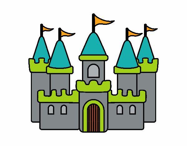 Dibujo de Castillo fantástico pintado por Valepxndx en ...