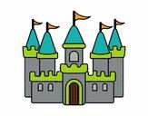 Dibujo Castillo fantástico pintado por Valepxndx