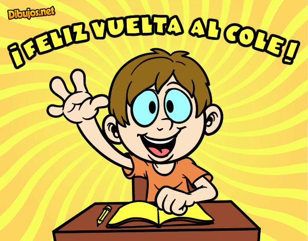Colorear Vuelta Al Cole 15: Dibujo De Hugo Pintado Por En Dibujos.net El Día 20-07-15