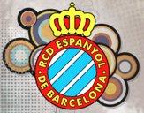 Dibujo Escudo del RCD Espanyol pintado por joswar