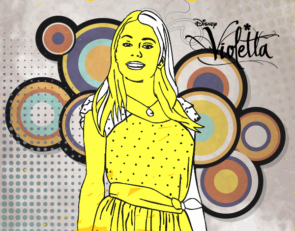 Dibujos Sin Colorear Dibujos De Violetta Disney Para: Dibujo De Violetta Disney Channel Para Colorear