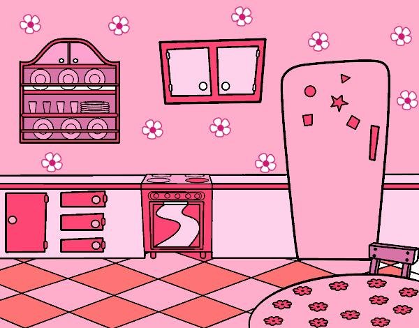 Dibujo de una cocina gallery of dibujos para colorear for Cocina dibujo