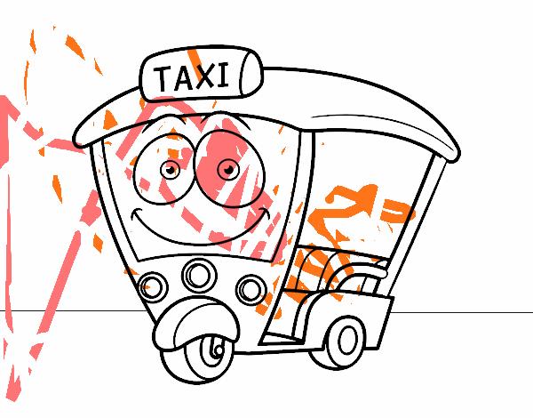 Dibujo de Moto  Taxi pintado por en Dibujosnet el da 060815 a