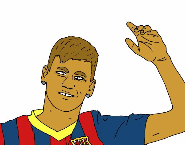 Imagenes De Neymar Para Dibujar