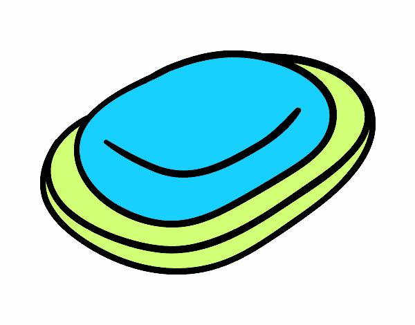Imagenes De Jabon De Baño:Dibujo de Pastilla de jabón pintado por en Dibujosnet el día 04-08