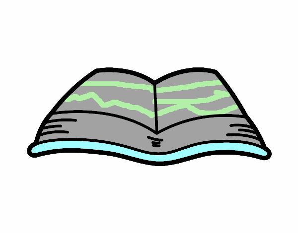 Dibujos De Libros Abiertos Para Imprimir: Libro Abierto Para Colorear Un Dibujalia Dibujos Pictures