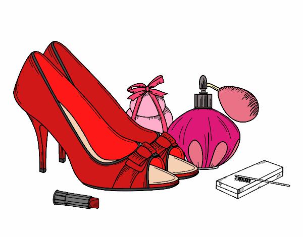 Zapatos y maquillaje Pintado por Usuario no registrado el 30 de Agosto ...