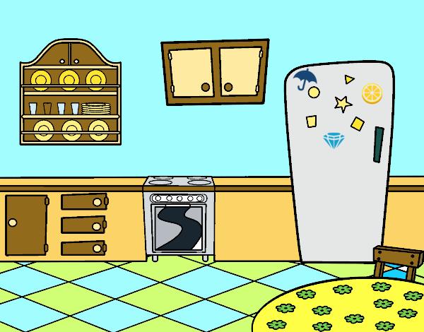 Dibujo de cocina office pintado por martinezna en dibujos for Dibujos de cocina