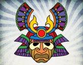 Dibujo Máscara china pintado por queyla