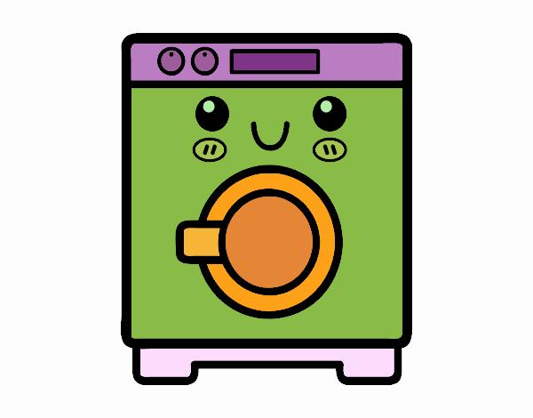Dibujo de lavadora pintado por en el d a 15 09 - Fotos de lavadoras ...