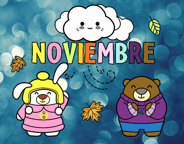 Dibujos Para Colorear 20 Noviembre Preescolar: Dibujo De Noviembre Pintado Por Audora En Dibujos.net El