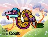 Los días aztecas: la serpiente Cóatl