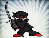 Ninja en posición