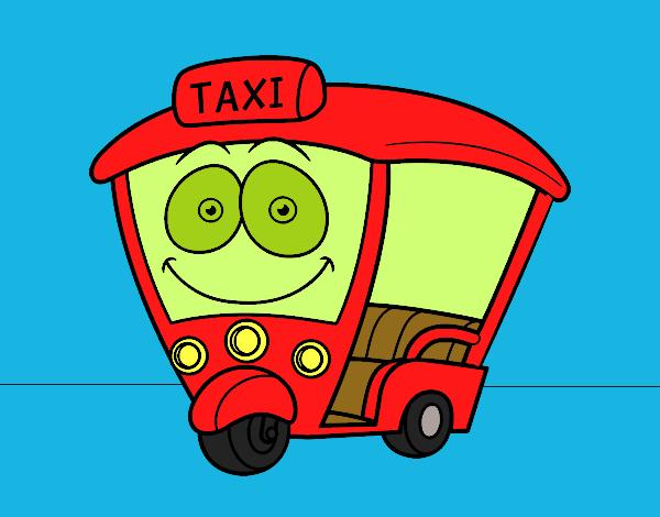 Dibujo de Moto  Taxi pintado por en Dibujosnet el da 300915 a