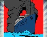 Dibujo Barco de vapor pintado por albertoxxx