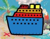 Dibujo Crucero pintado por albertoxxx