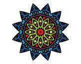 Mandala estrella