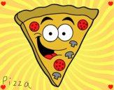 Pizza feliz