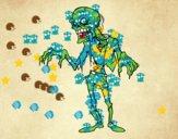 Dibujo Un zombie pintado por ChiquiPa