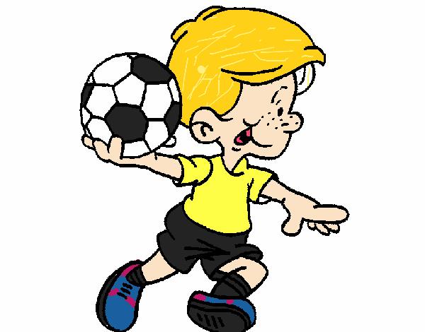 Dibujos De Porteros De Futbol Stunning Futbol Dibujo: Dibujo De Portero Pintado Por En Dibujos.net El Día 19-10