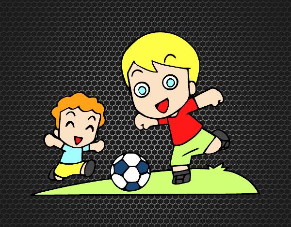 Dibujo De Futbol Pintado Por Maarta En Dibujos Net El Día: Dibujo De Fútbol En El Recreo Pintado Por En Dibujos.net