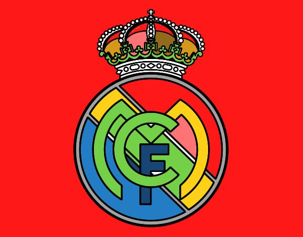 Dibujos Para Colorear Escudo Real Madrid