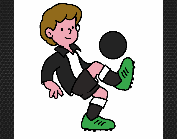 Dibujo De Futbol Pintado Por Maarta En Dibujos Net El Día: Dibujo De Fútbol Pintado Por En Dibujos.net El Día 11-11