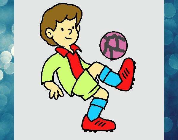 Dibujo De Fútbol Pintado Por Fustapa13 En Dibujos Net El: Dibujo De Fútbol Pintado Por En Dibujos.net El Día 13-11