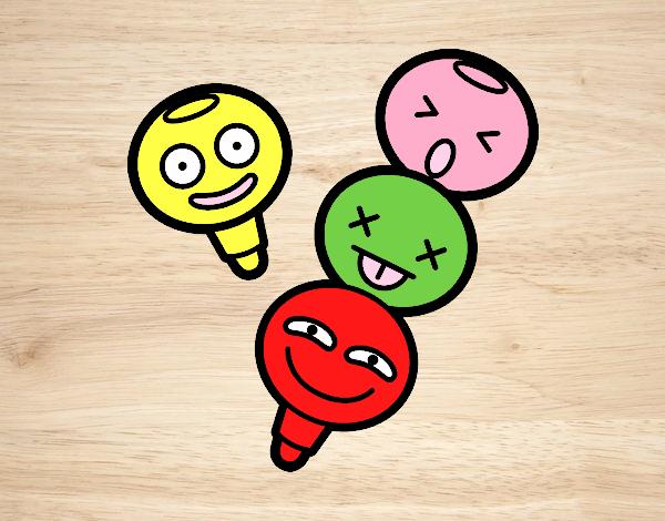 Dibujo de emojis pintado por en Dibujosnet el da 091115 a las