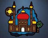 Dibujo Taj Mahal pintado por Alberto10