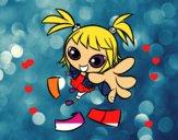 Una niña manga