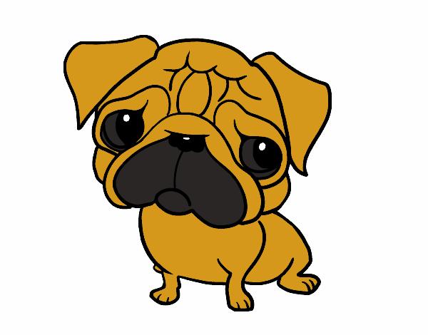 Dibujo de el perro triste pintado por en Dibujosnet el da 2311