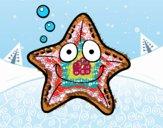Dibujo Estrella marina pintado por AitanaPR