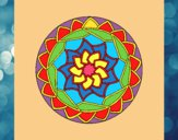 Dibujo Mandala 1 pintado por micky729
