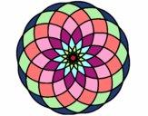 Dibujo Mandala 4 pintado por mdifranco