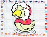 Pato en invierno