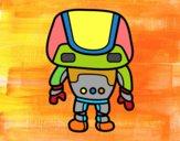 Robot fuerte