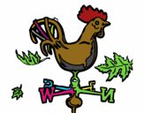 Veletas y gallo