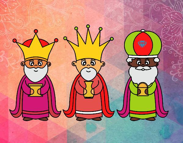 Dibujar Reyes Magos. Good Reyes Magos De Oriente. Stunning