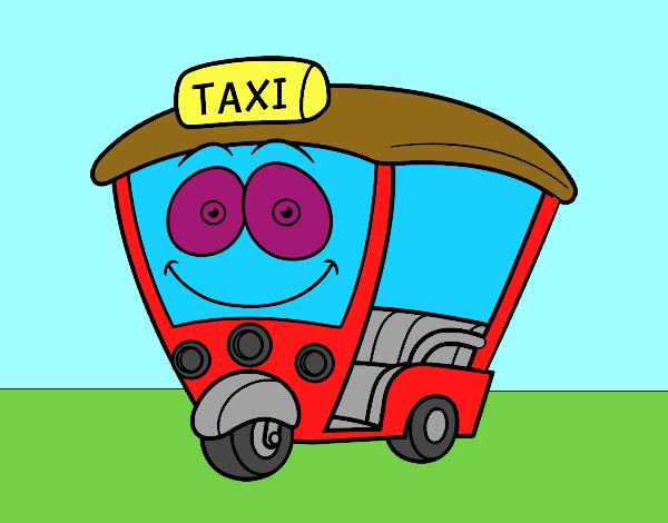 Dibujo de Moto  Taxi pintado por en Dibujosnet el da 041215 a
